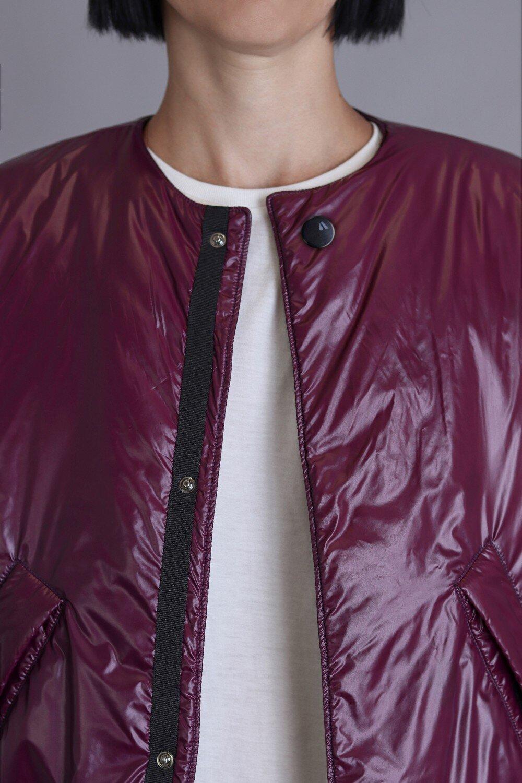 Aubergine bomber jacket Agogic
