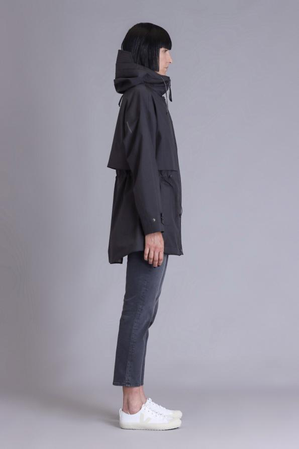 women waterproof parka coat